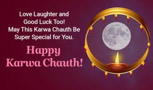 Karwa Chauth Message for Friends