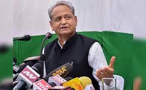 Gehlot's attack on Modi government on Lakhimpur