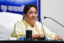 Mayawati Demand for Ban Election Survey